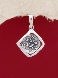 Сребърен медальон - PK161