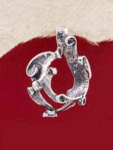 Сребърен медальон - PK162