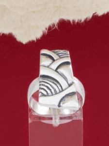 Сребърен пръстен - RK174