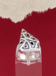 Сребърен пръстен - RK176