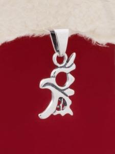 Сребърен медальон - PK177