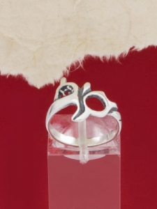 Сребърен пръстен - RK177