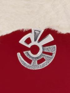 Сребърен медальон - PK180