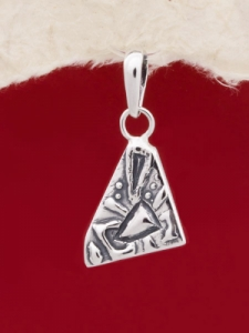 Сребърен медальон - PK181