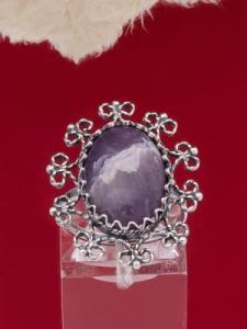 Сребърен пръстен - FRK86 - Аметист