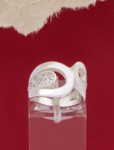 Сребърен пръстен - R252
