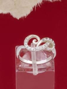 Сребърен пръстен - R254