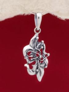 Сребърен медальон PK197