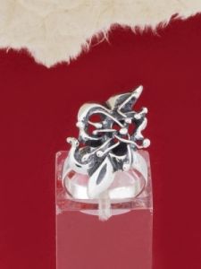 Сребърен пръстен RK197