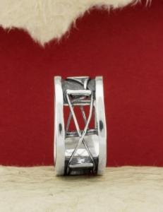 Сребърен пръстен RK198