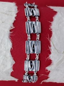 Сребърна гривна - BK201