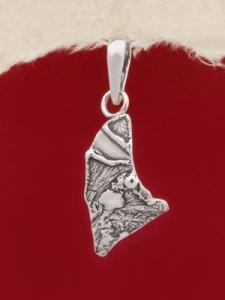 Сребърен медальон - PK227