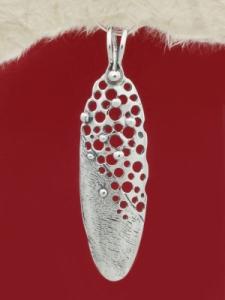 Сребърен медальон - PK229