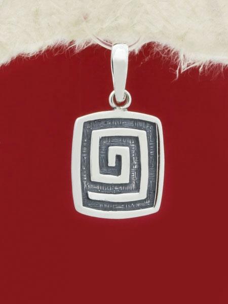Сребърен медальон - PK236