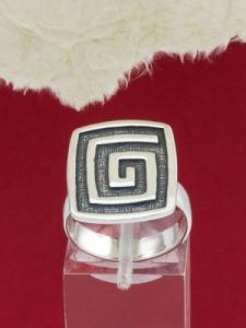 Сребърен пръстен - RK236