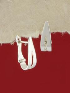 Сребърни обеци - E18