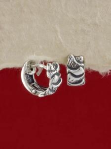 Сребърни обеци - E118