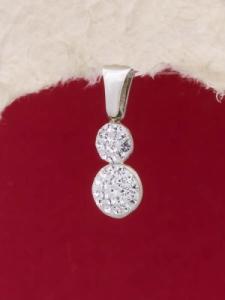 Сребърен медальон - PK298
