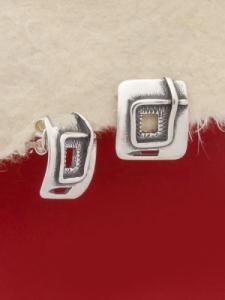 Сребърни обеци - EK35