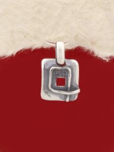 Сребърен медальон - PK35 - малък