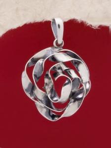 Сребърен медальон - SPK84A
