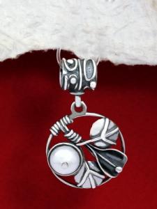 Сребърен медальон - HP24