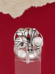 Сребърен пръстен - HR32