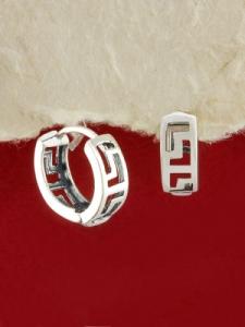 Сребърни обеци - E19