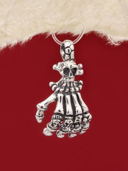 Сребърен медальон P218