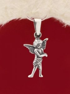 Сребърен медальон P224