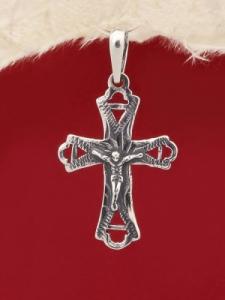 Сребърен медальон P190