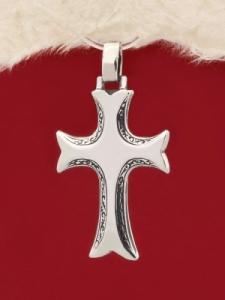 Сребърен медальон P243