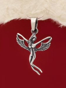 Сребърен медальон P227