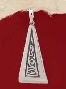 Сребърен медальон P187