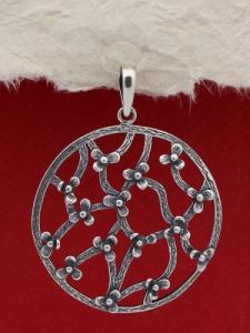 Сребърен медальон PK379