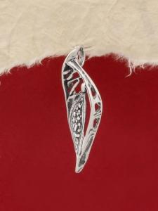 Сребърен медальон P139