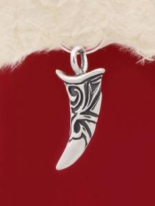 Сребърен медальон P209