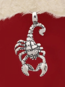 Сребърен медальон P214