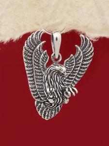 Сребърен медальон P236