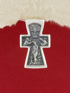 Сребърен медальон PKS004