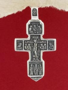 Сребърен медальон PKS006