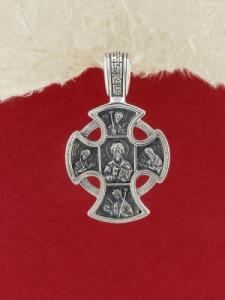 Сребърен медальон PKS008