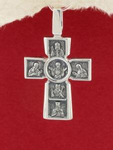 Сребърен медальон PKS009