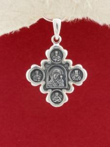 Сребърен медальон PKS010