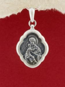 Сребърен медальон PKS013