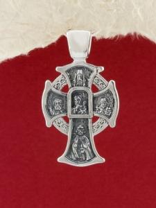 Сребърен медальон PKS020