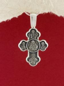 Сребърен медальон PKS021