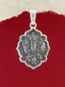 Сребърен медальон PKS022