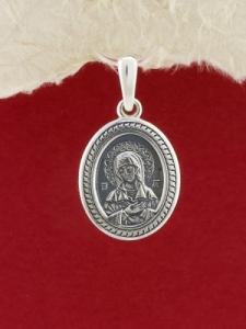 Сребърен медальон PKS023