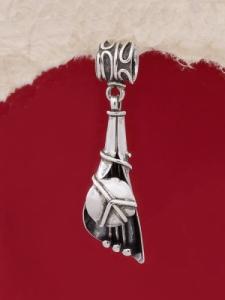 Сребърен медальон HP4